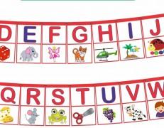 Alfabeto Varal Infantil