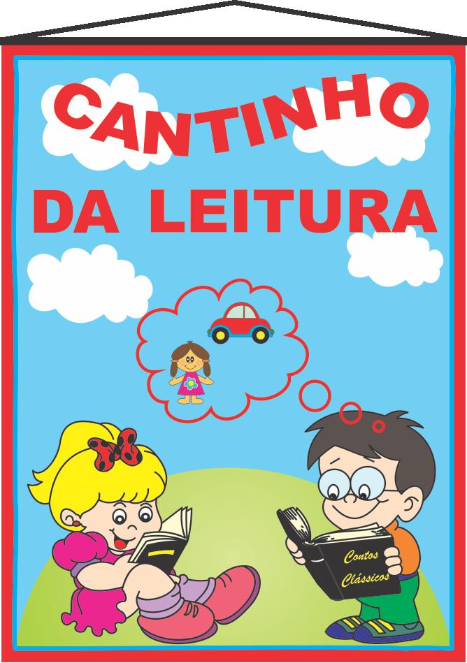 Banner Cantinho Da Leitura