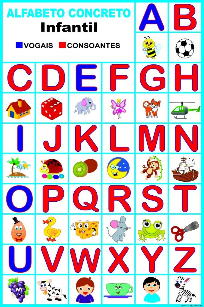 Alfabeto Concreto Infantil