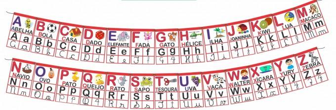 Alfabeto Varal – Modelo II
