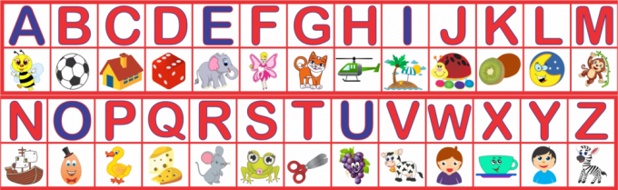 Faixa Alfabeto Infantil